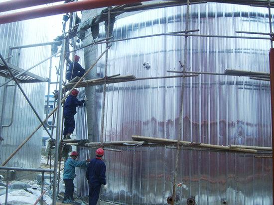 牡丹江镀锌板铁皮保温/罐体保温施工队