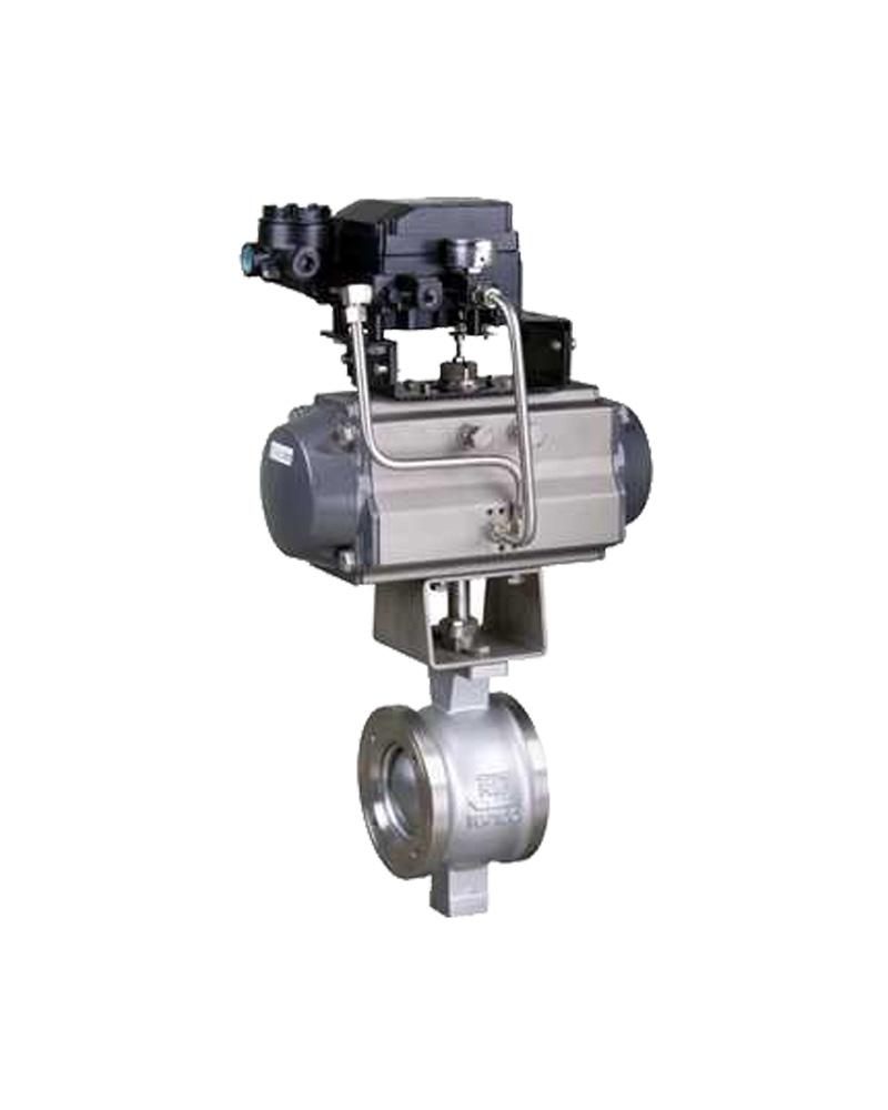 气动线性调节球阀-上海戎钛阀门制造有限公司图片