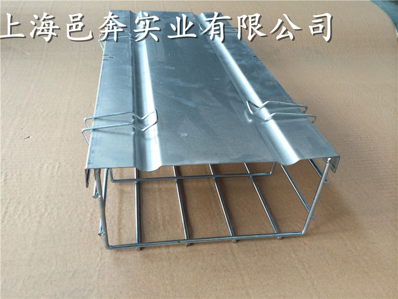 50*50开放式网格桥架|金属线槽|钢网桥架|镀锌网格桥架50*50