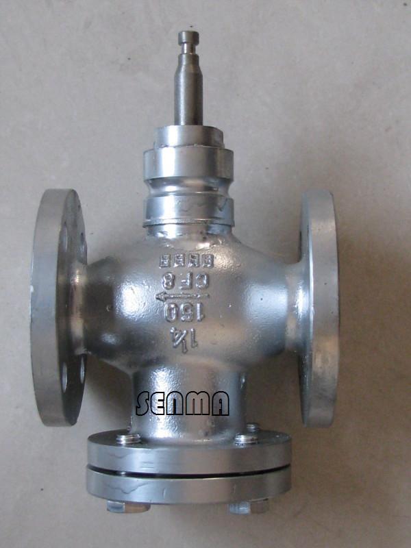 不锈钢电动温控两通调节阀vb-7200