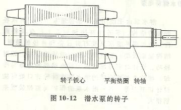 潜水泵转子