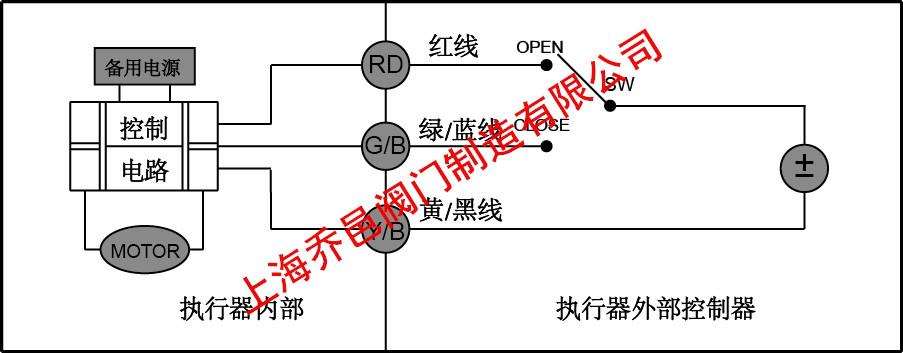 微型电动球阀cr2-02接线图
