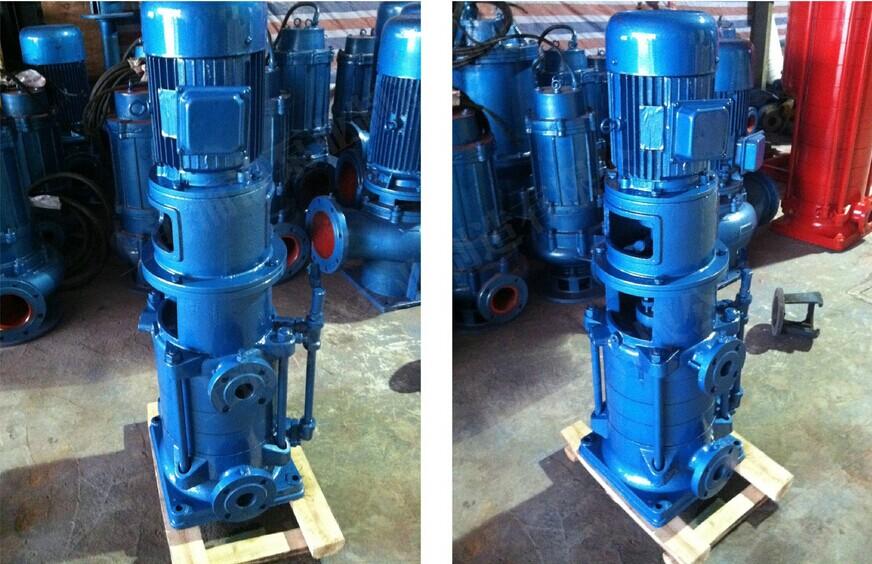 1.安装前检查水泵和电机的完好情况.-DL立式多级离心泵安装方法