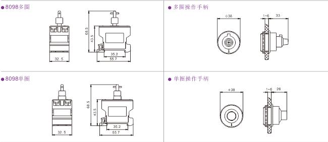 8098防爆防腐电位器 防爆变频器调速器 防爆电位器开关产品特点 8098