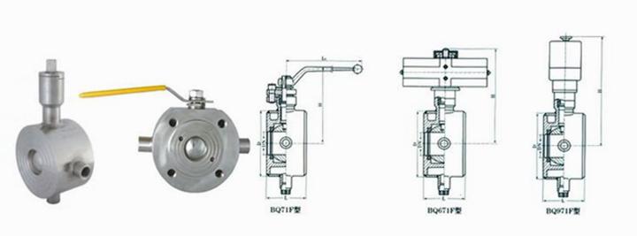 bq71f对夹式夹套保温球阀厂家,薄型夹套保温球阀尺寸