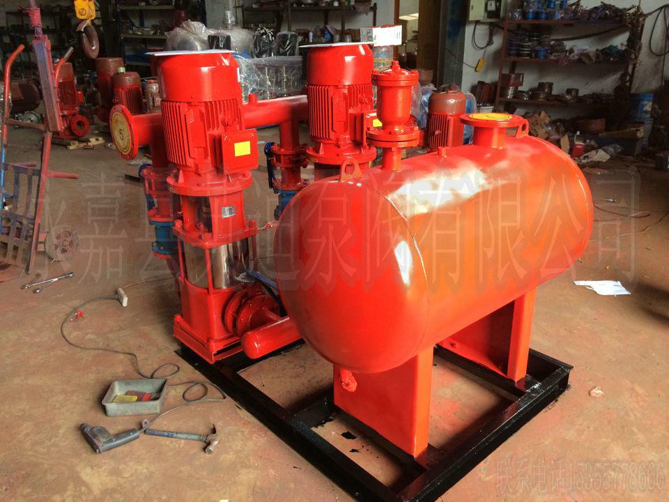 产品库 泵/阀/管件/水箱 泵 消防泵 英迪消防增压稳压给水设备图片