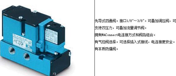 美国mac气压电磁阀规格型号