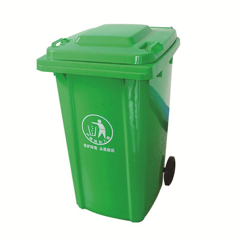 分类垃圾桶高密度抗冲击聚乙烯注模而成