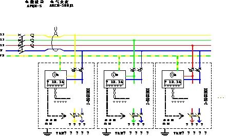 单相光伏发电计量电表接线图