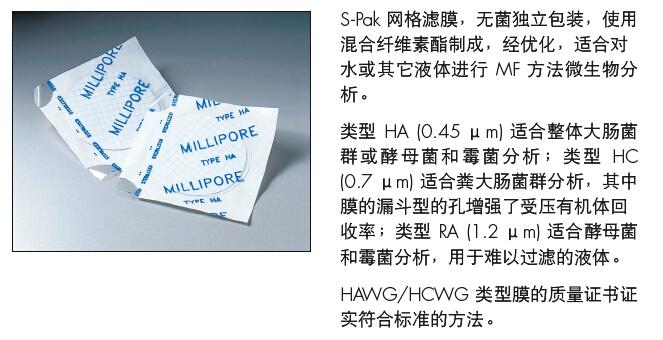 HAWG047S6-Merck Millipore  混合纤维素酯-混合纤维素酯膜