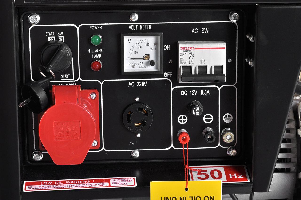 三相电启动柴油发电机yt6800e3