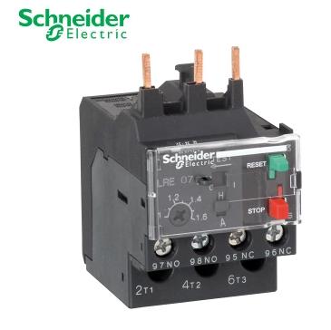 继电器 施耐德热过载继电器lrd12c 4-6a  该系列热继电器可与接触器接