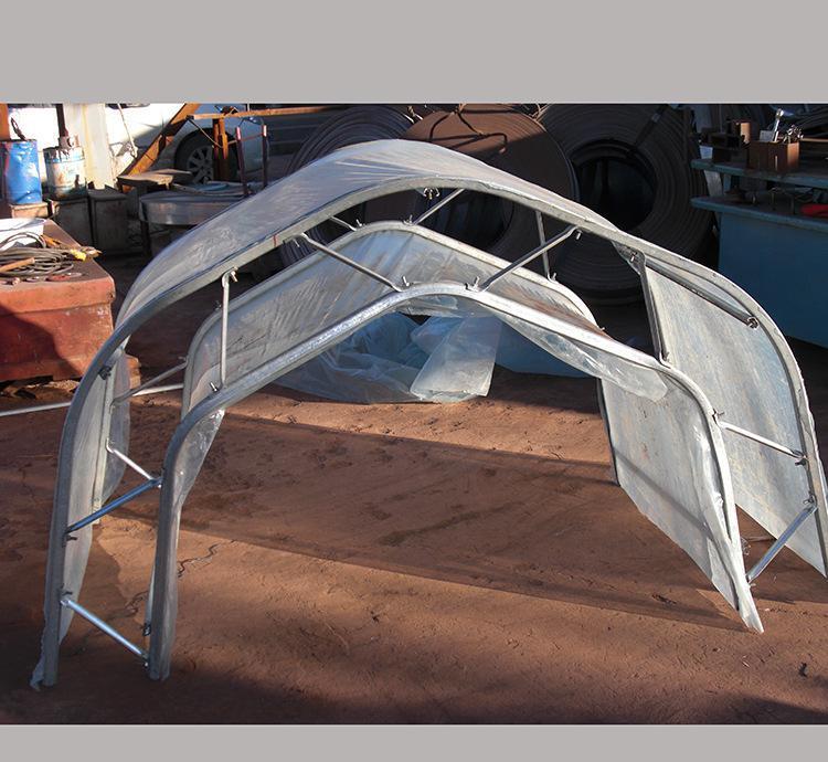 帐篷骨架结构图