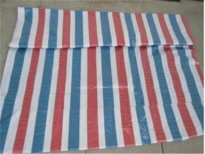 全新聚乙烯pe塑料编制彩条布 防水防尘 防晒 材质轻盈,表面覆膜 ,普通