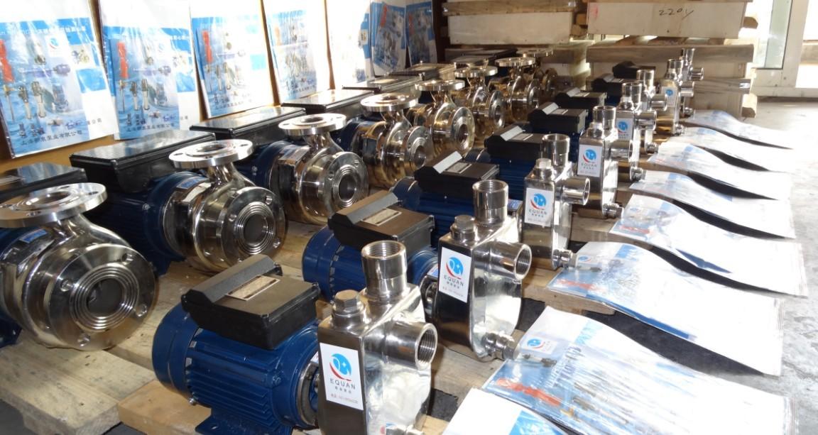 小型不锈钢自吸泵特点选型及安装尺寸