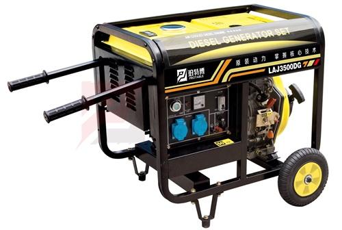 便携式3kw柴油发电机
