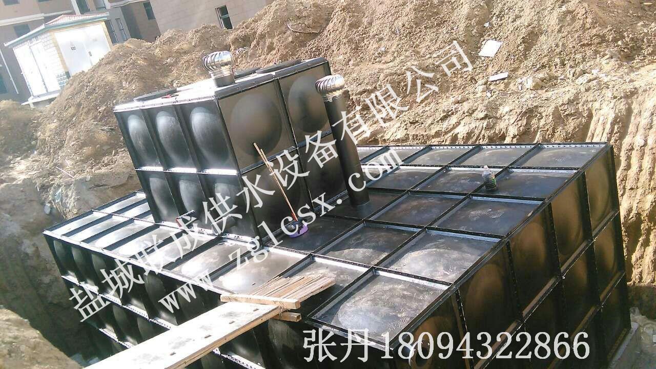 联成 南京组合式不锈钢水箱消防保温水箱价格