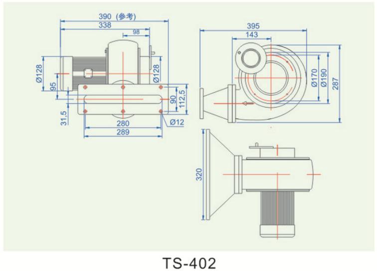 低压散热风扇TS-402多少钱