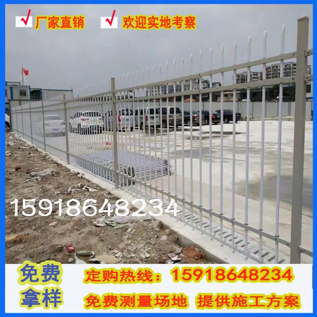 中铁集团合作厂家 东莞项目部临时围墙围栏 三横梁铁艺隔离栏