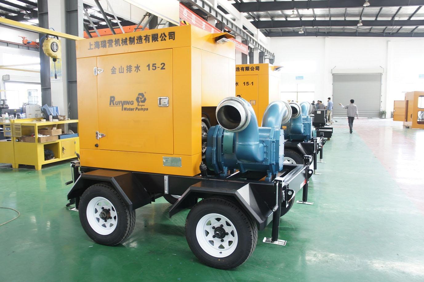 排涝柴油机自吸泵车