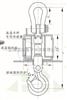 吊秤OCS-20T耐高溫電子吊秤電解鋁車間鋼包稱重電子稱